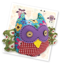 Crafty Kit Co - Patchwork Owl