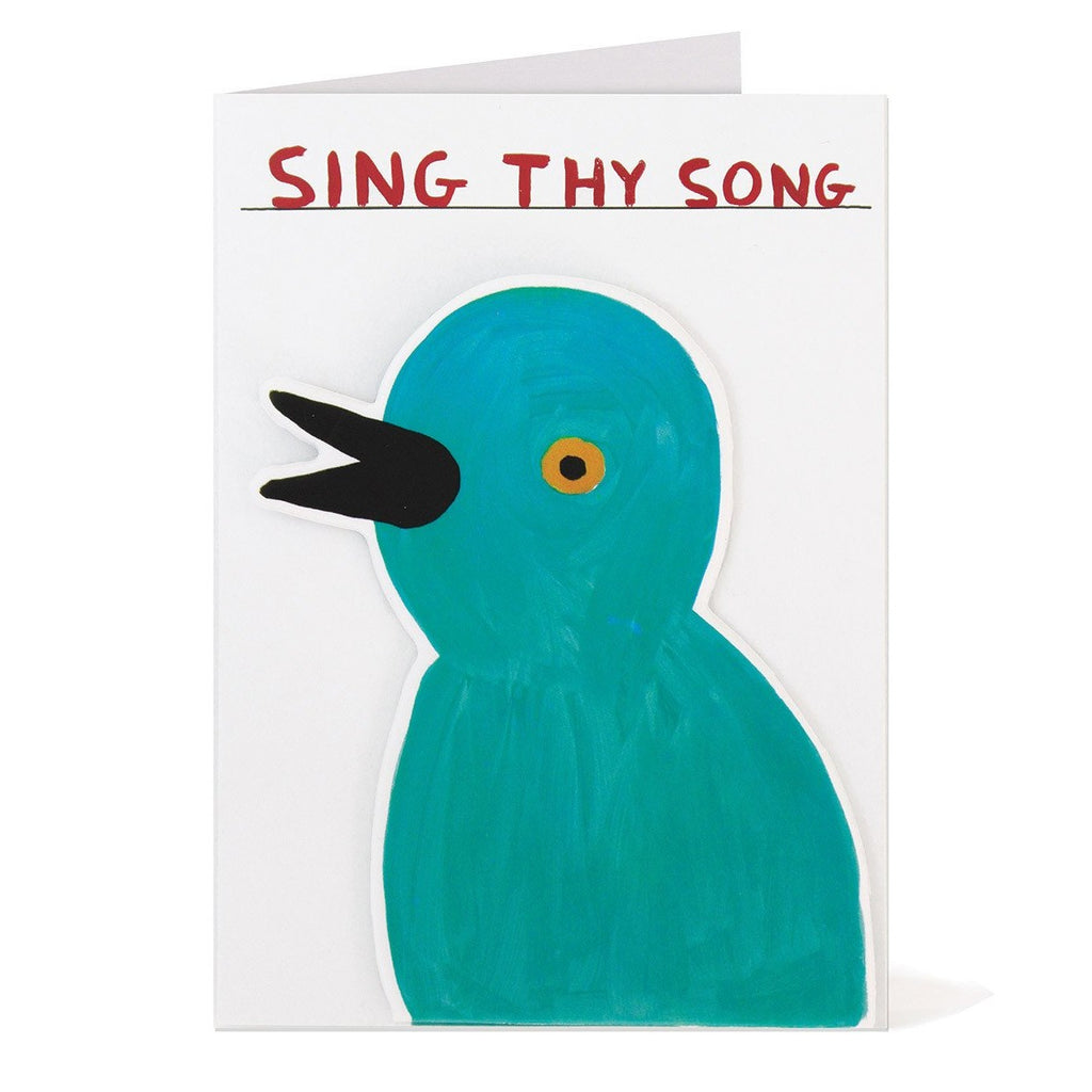 Shrigley - Sing Thy Song Card