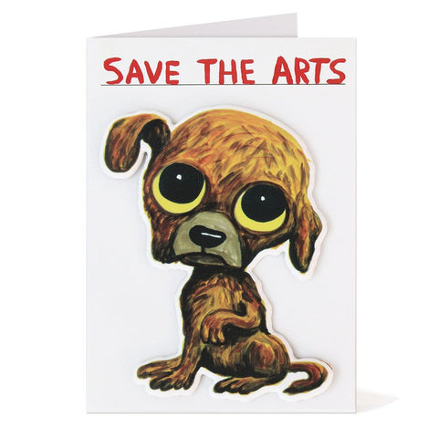 Shrigley - Save The Arts Card