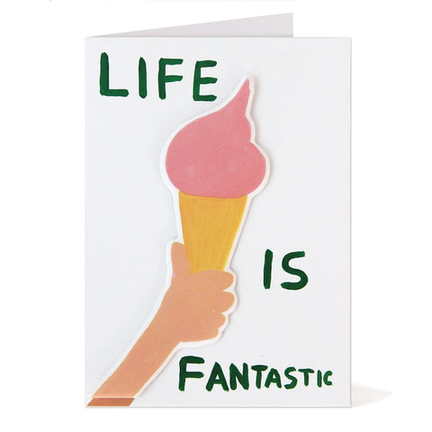 Shrigley - Life Is Fantastic Card