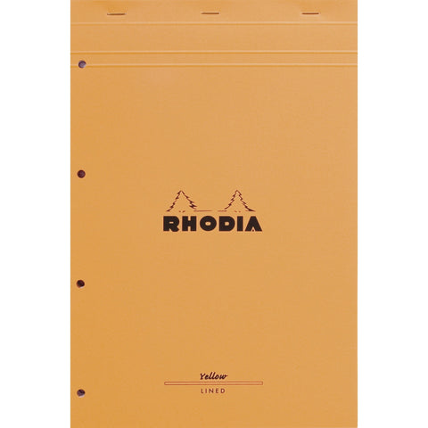 Rhodia ORANGE Pad - Yellow