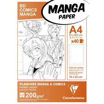 Manga BD/Comic pack A4  F.S.