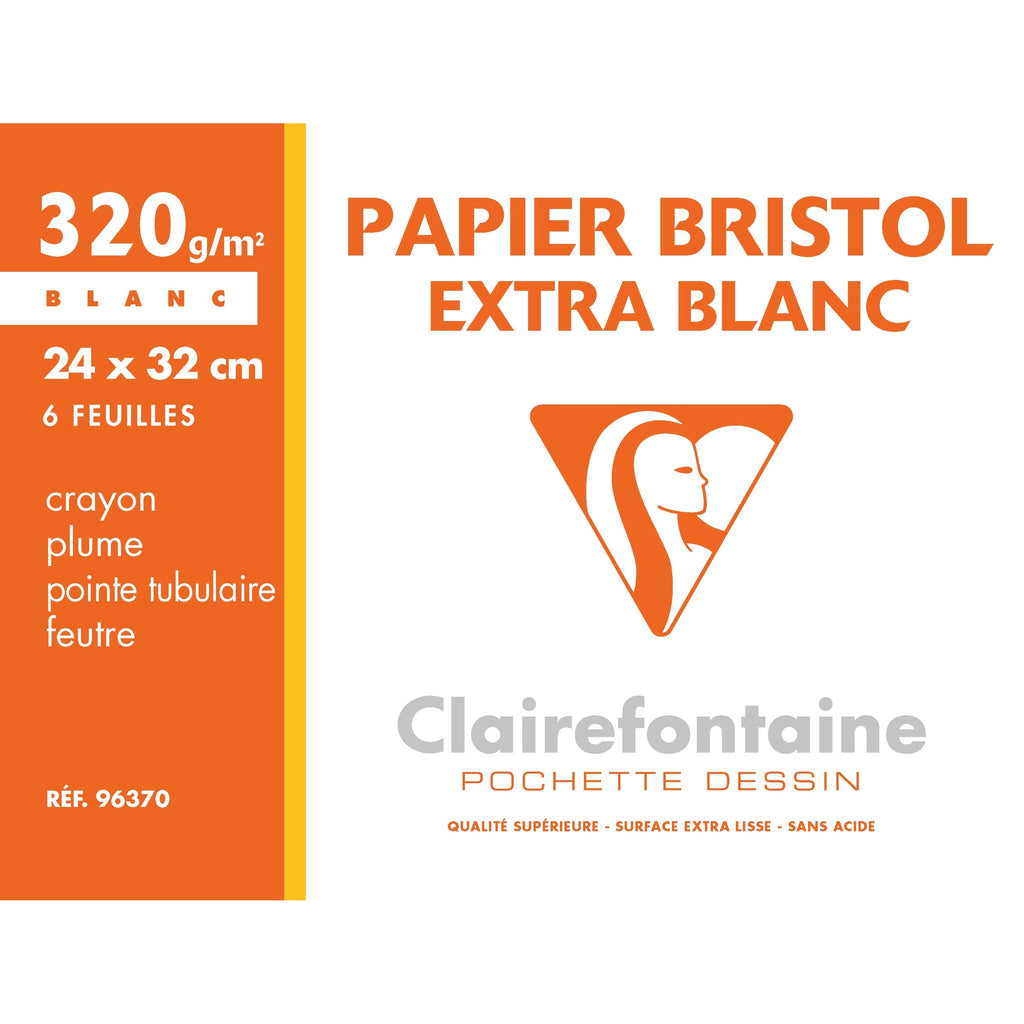 Bristol Paper Pack - 6 Sheets