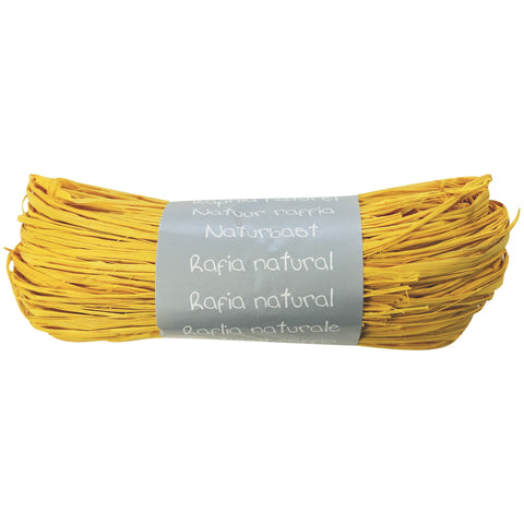 Natural Raffia Ball 50g Lemon