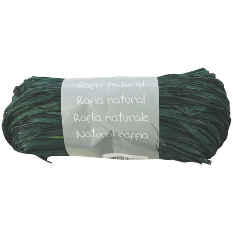 Natural Raffia Ball 50g Olive green