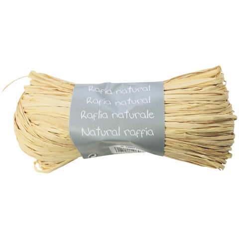 Natural Raffia Ball 50g Natural
