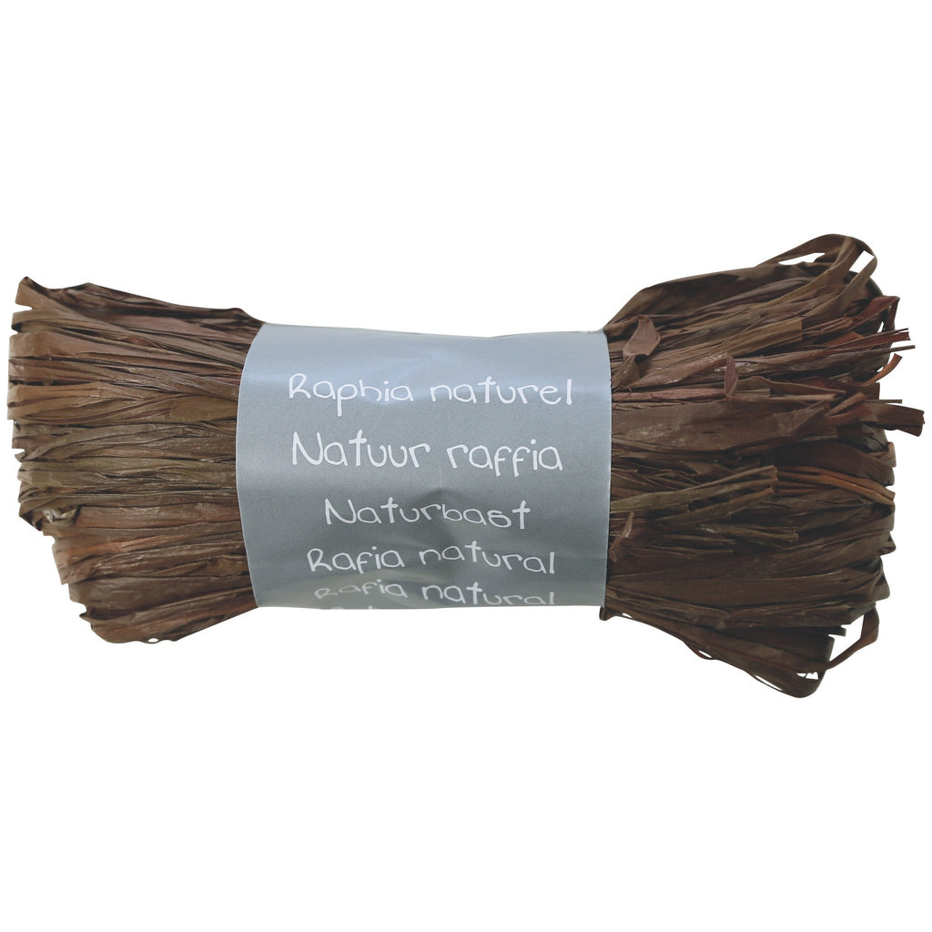 Natural Raffia Ball 50g Coffee