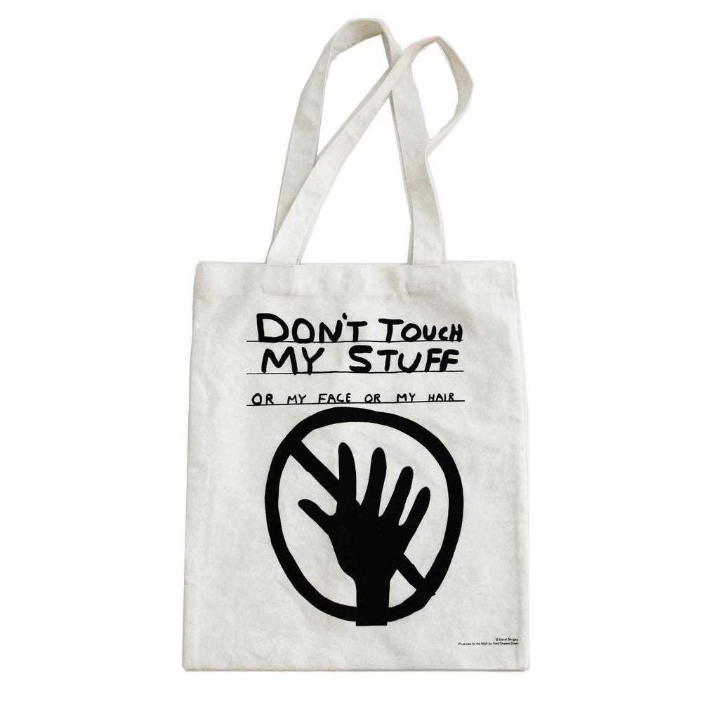 David Shrigley - Dont Touch My Stuff - Tote Bag