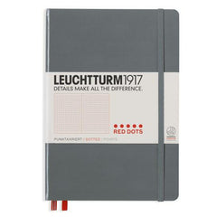 Leuchtturm 1917 Medium Notebook Special Edition Red Dotted