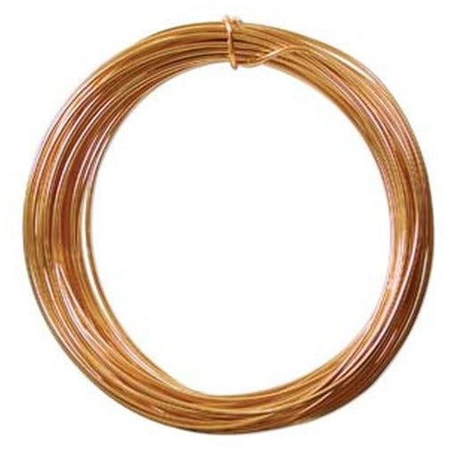 Aluminum Wire 12 Gauge Gold