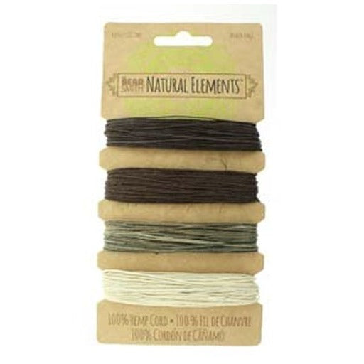 Hemp Cord 0.55Mm 10 Lb Neutral Colours