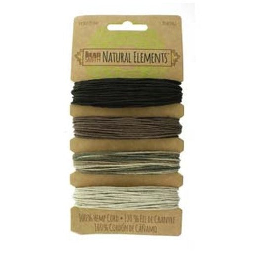 Hemp Cord 1.0Mm 20 Lb Neutral Colours