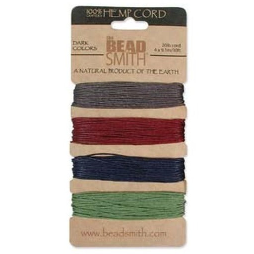 Hemp Cord 1.0Mm 20 Lb Dark Colours