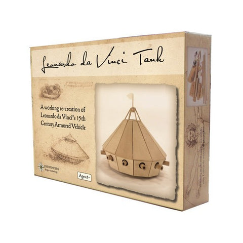 Da Vinci Tank Wooden Kit