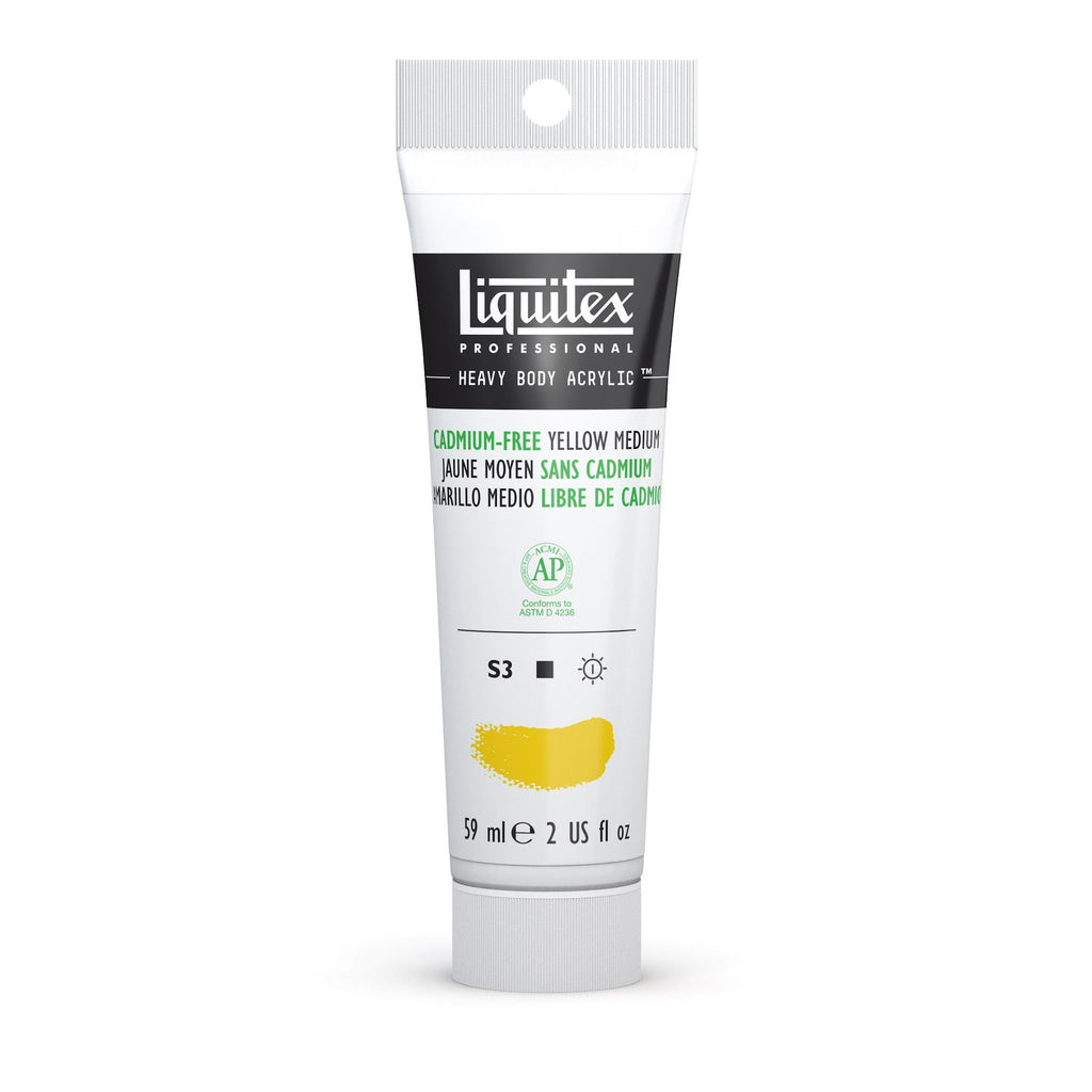 Liquitex Heavy Body 59ml Cadmium-Free Yellow Medium