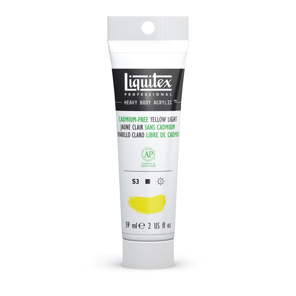 Liquitex Heavy Body 59ml Cadmium-Free Yellow Light