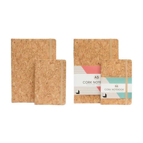 Cork Notebook A6