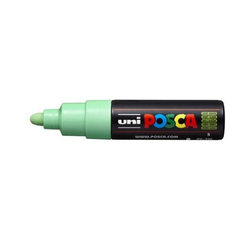 PC-7M Posca Large Bullet Tip Light Green