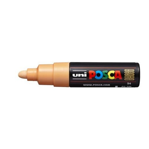 PC-7M Posca Large Bullet Tip Light Orange