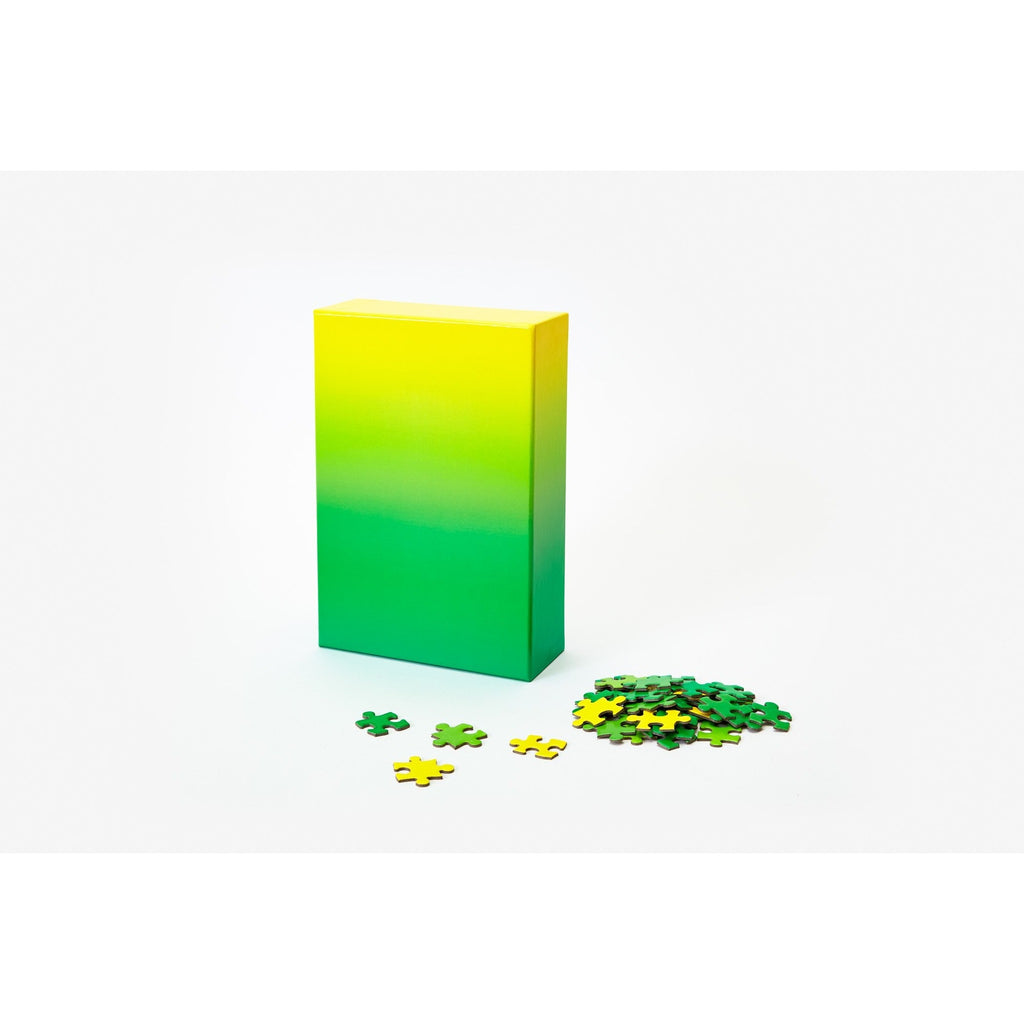 Areaware -  Gradient Puzzle - Yellow/Green