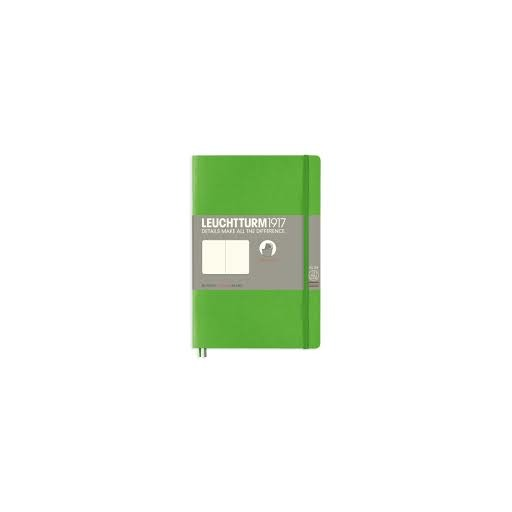 Leuchtturm1917 Paperback Notebook (B6+) - Fresh Green - Plain