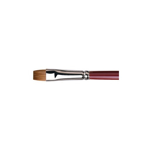Da Vinci 1810 Kolinsky Red Sable Oil Painting Brush - Size 1