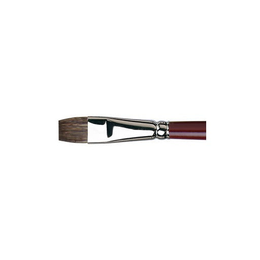 Da Vinci 1840 Black Sable Oil Painting Brush - Size 6