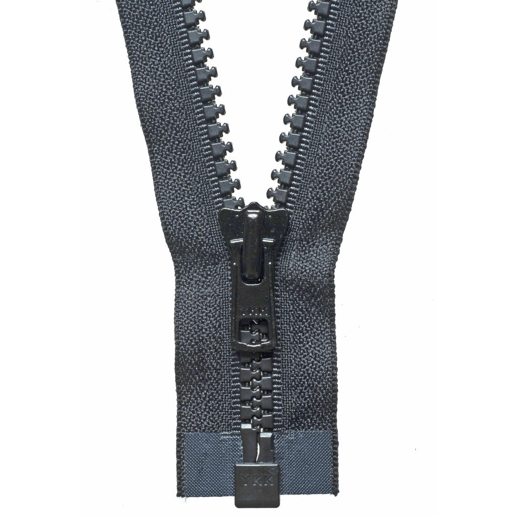 Vislon Heavyweight Open End Zip - 71cm - Black