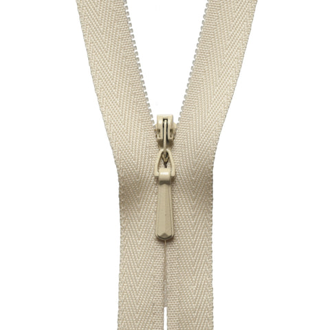 Concealed Zip - 56cm - Honey