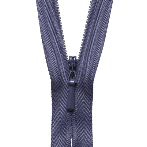 Concealed Zip - 56cm - Dark Grape