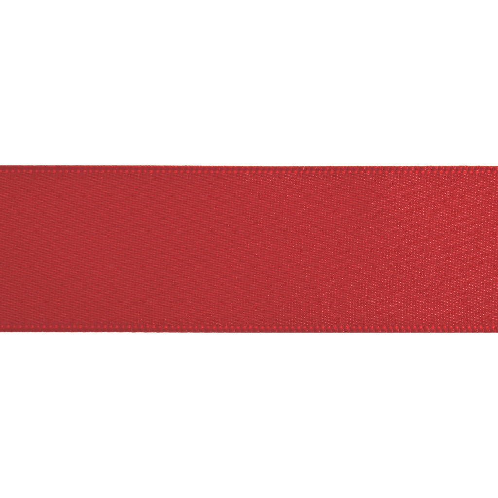 Double-Face Satin - 5m x 6mm - Scarlet