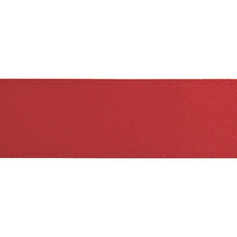 Double-Face Satin - 5m x 24mm - Scarlet