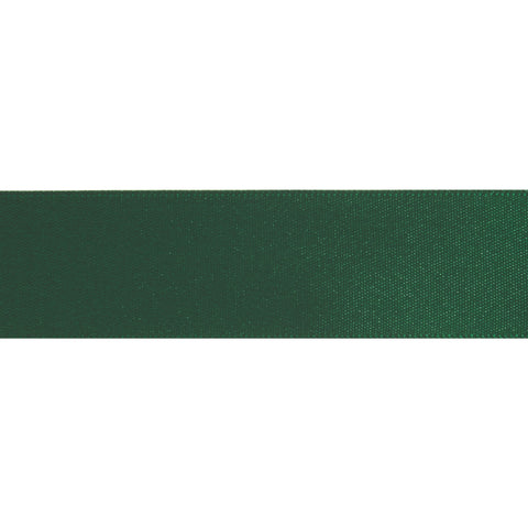 Double-Face Satin - 5m x 12mm - Kelly Green