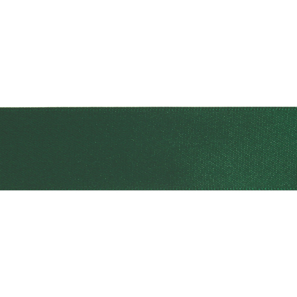 Double-Face Satin - 5m x 24mm - Kelly Green