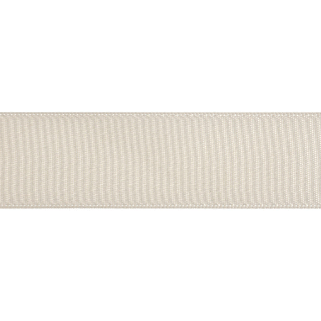 Double-Face Satin - 5m x 24mm - Cream
