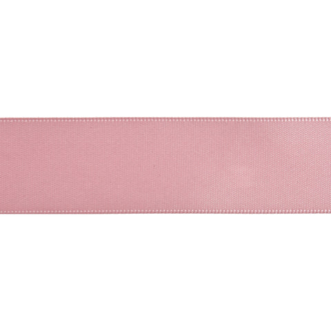 Double-Face Satin - 5m x 24mm - Pink