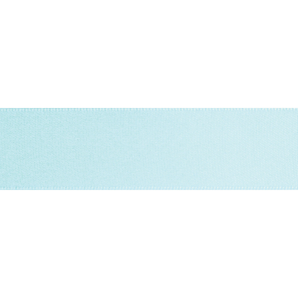 Double-Face Satin - 5m x 24mm - Light Blue