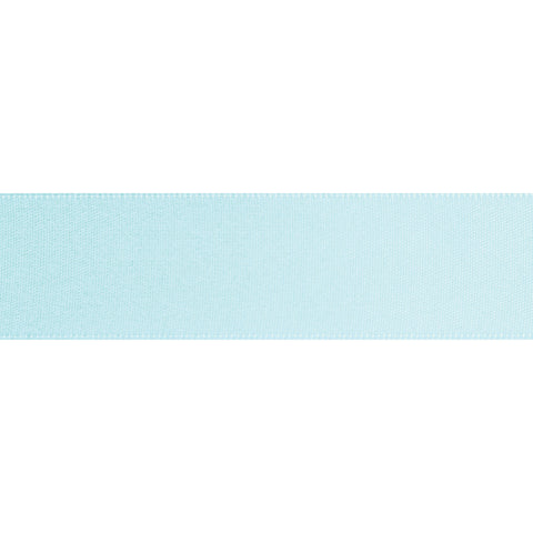 Double-Face Satin - 5m x 3mm - Light Blue