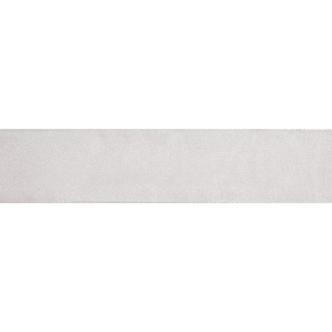 Organdie Sheer - 5m x 25mm - White