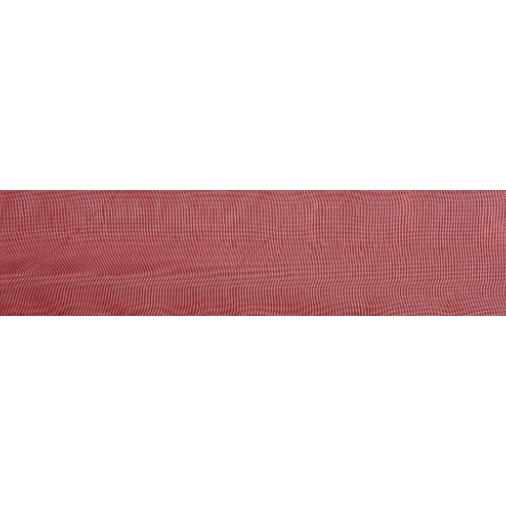 Organdie Sheer - 5m x 25mm - Red