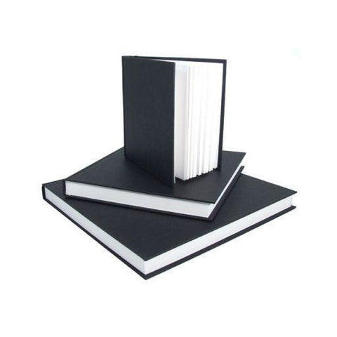 Seawhite Square Black Cloth Hardback Sketchbook