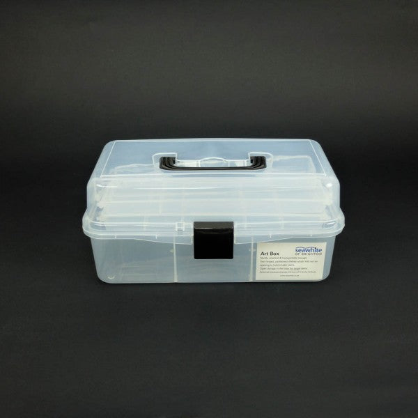 Seawhite Clear Tool Box With Foldout Shelves