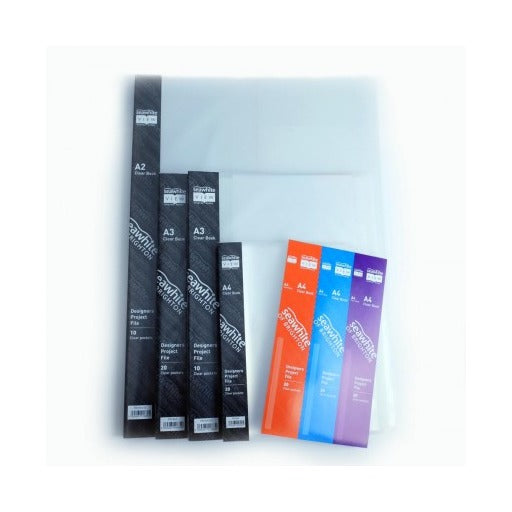 Seawhite A2 Clear Book - 10 Clear Pockets