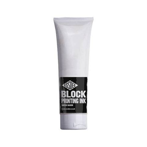 Essdee Block Printing Ink White 300ml