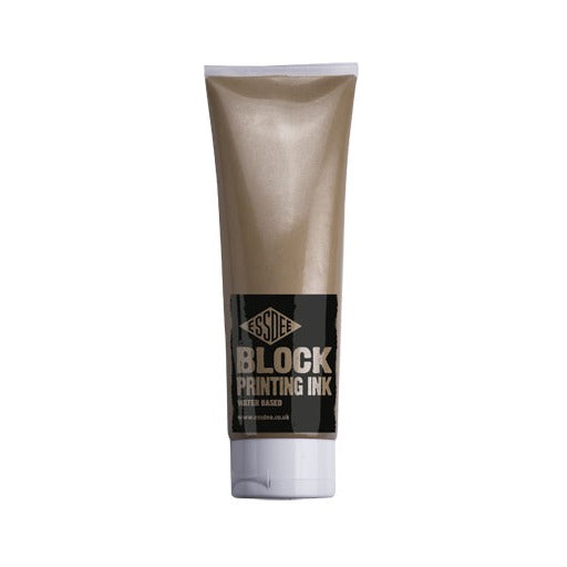 Essdee Block Printing Ink Metallic Gold 300ml