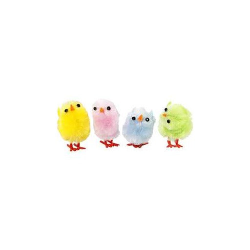 Easter Chicks - Pastel Colours - Pack Of 12