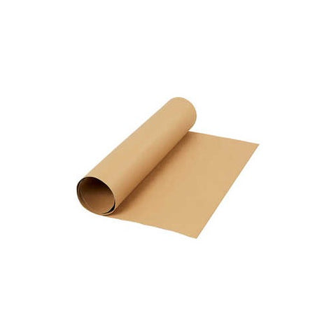 Faux Leather Paper - Light Brown
