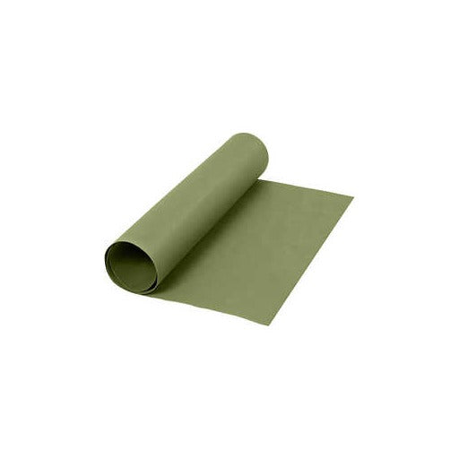 Faux Leather Paper - Green