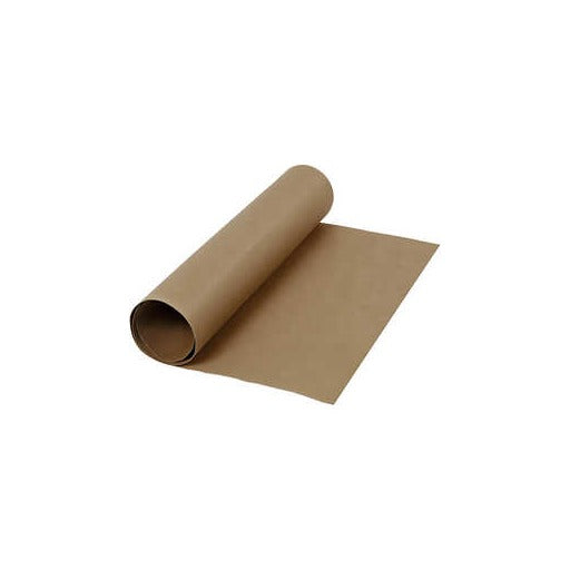 Faux Leather Paper - Dark Brown