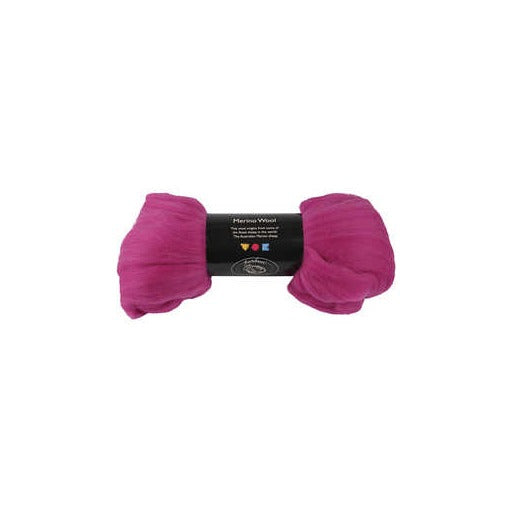 Merino Wool - Violet-Red - 100g